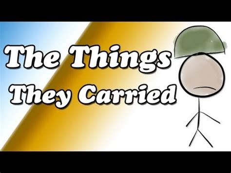Book report on the things they carried